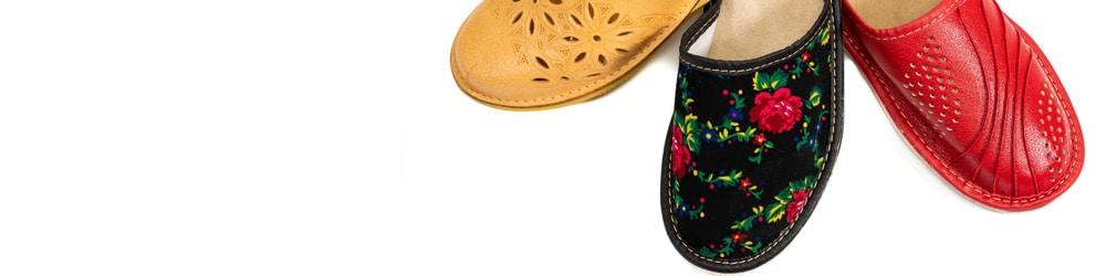 Pantofle damskie pełne
